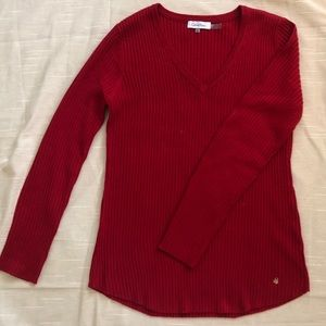 Calvin Klein Red Sweater, Size Small